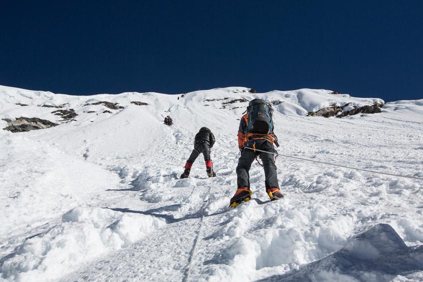 Everest High Passes and Island Peak Climb