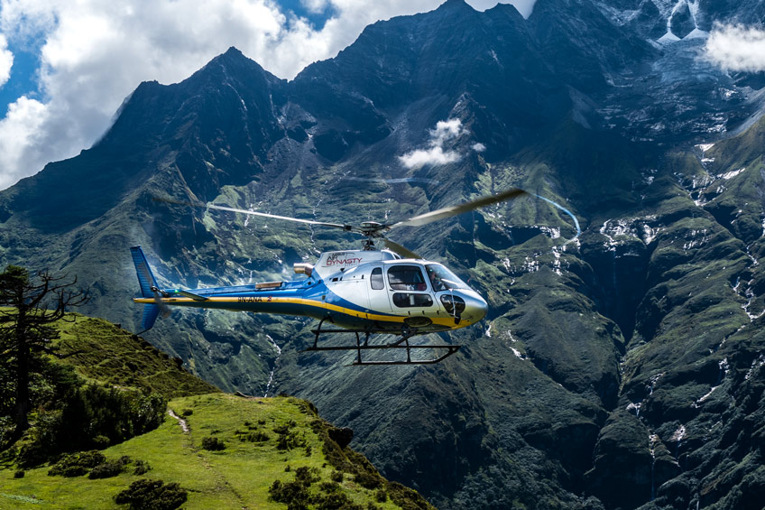 Everest Base Camp with Helicopter Return